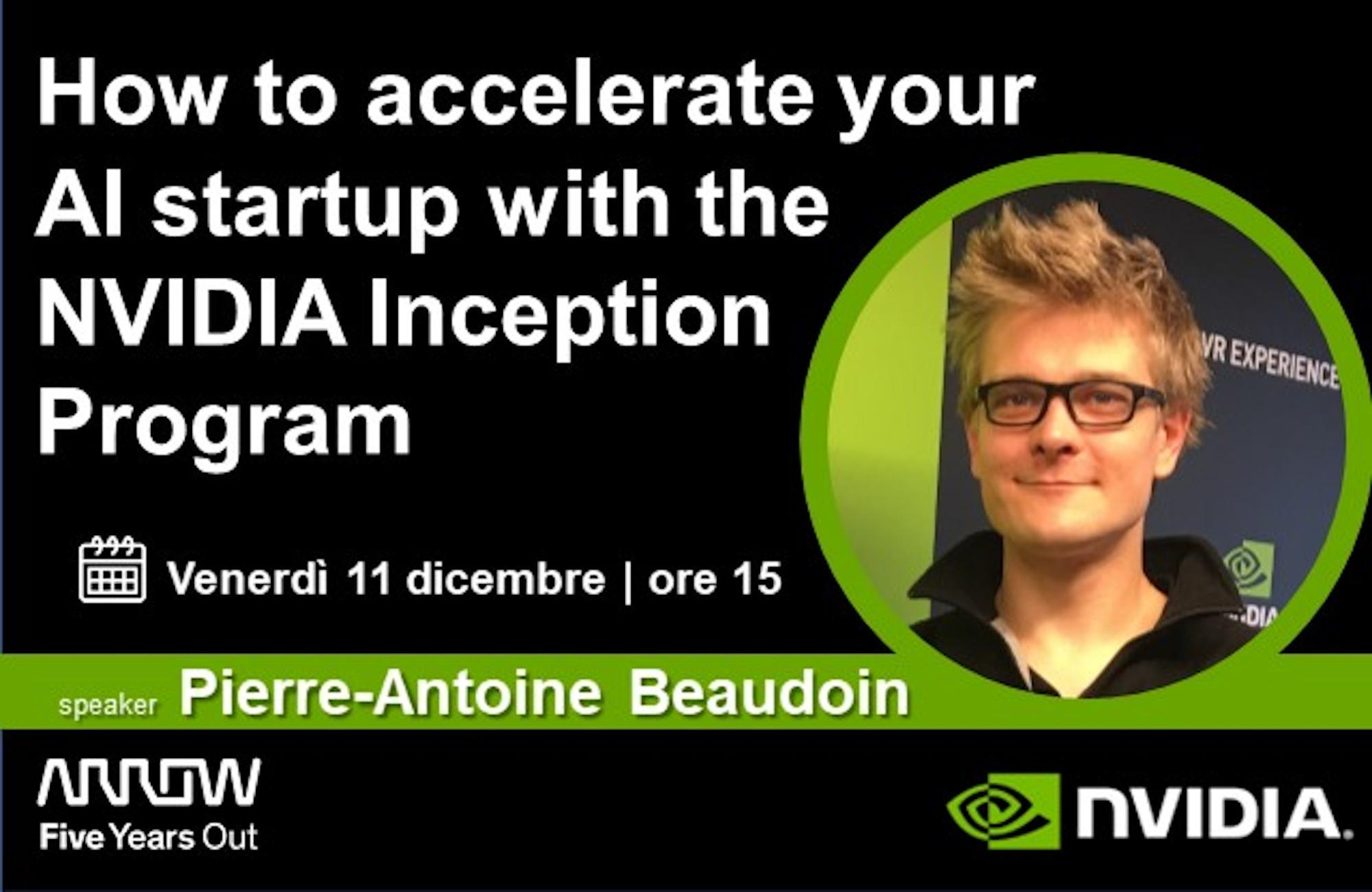 How to accelerate your AI startup with the NVIDIA Inception Program