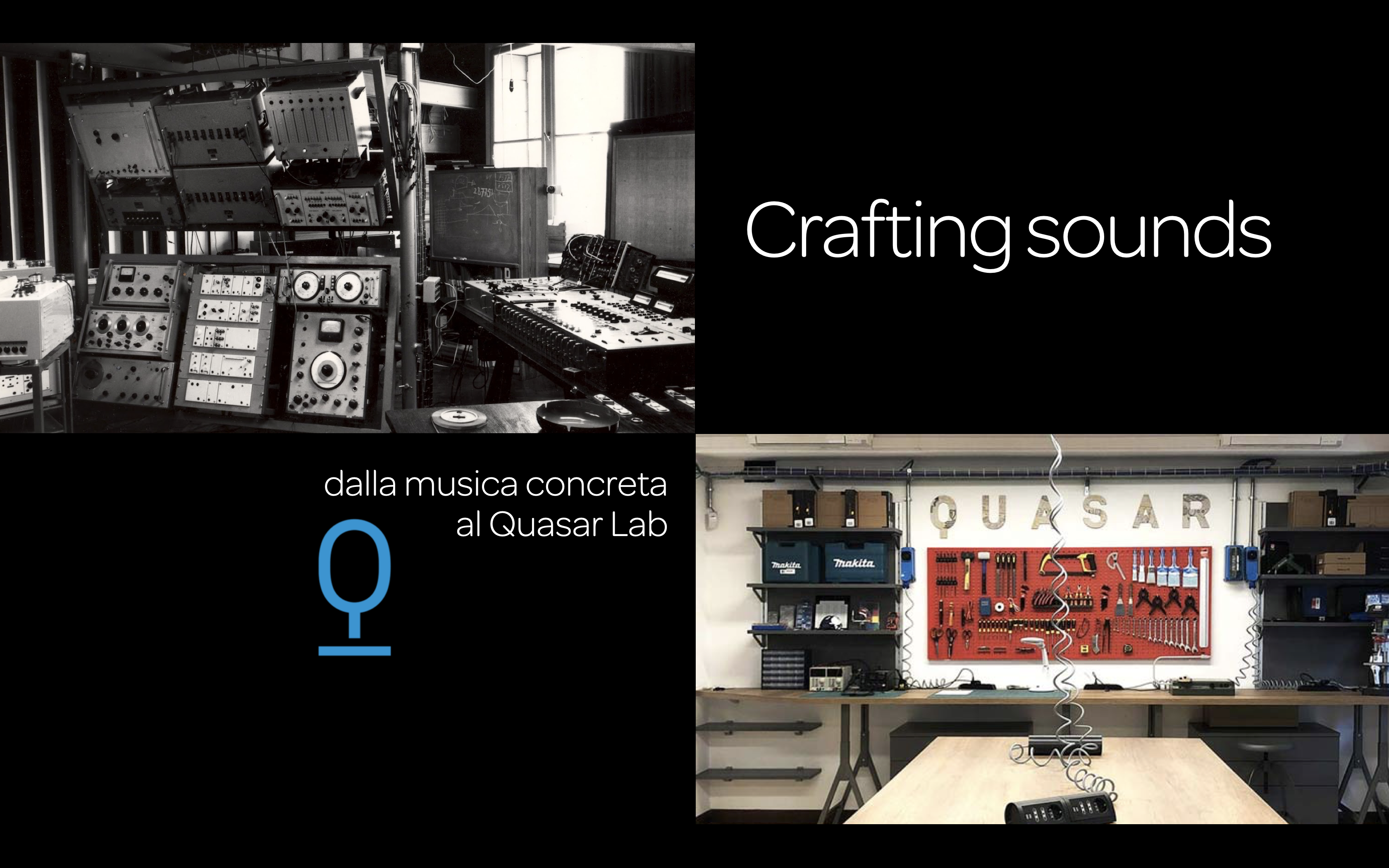 Crafting sounds