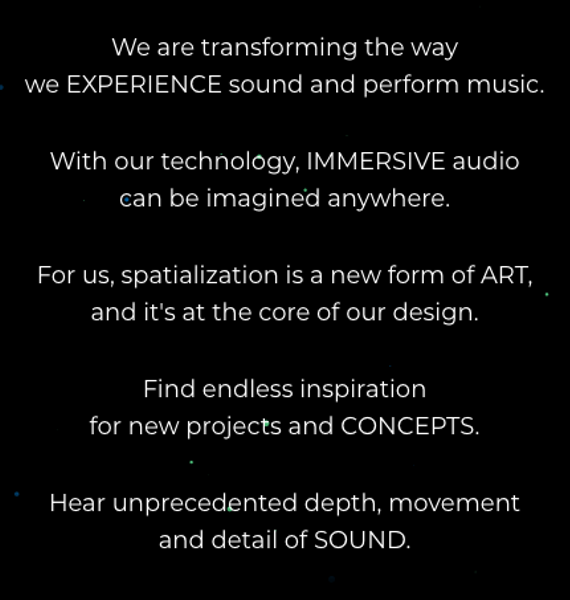 make sound in 3D spatialization