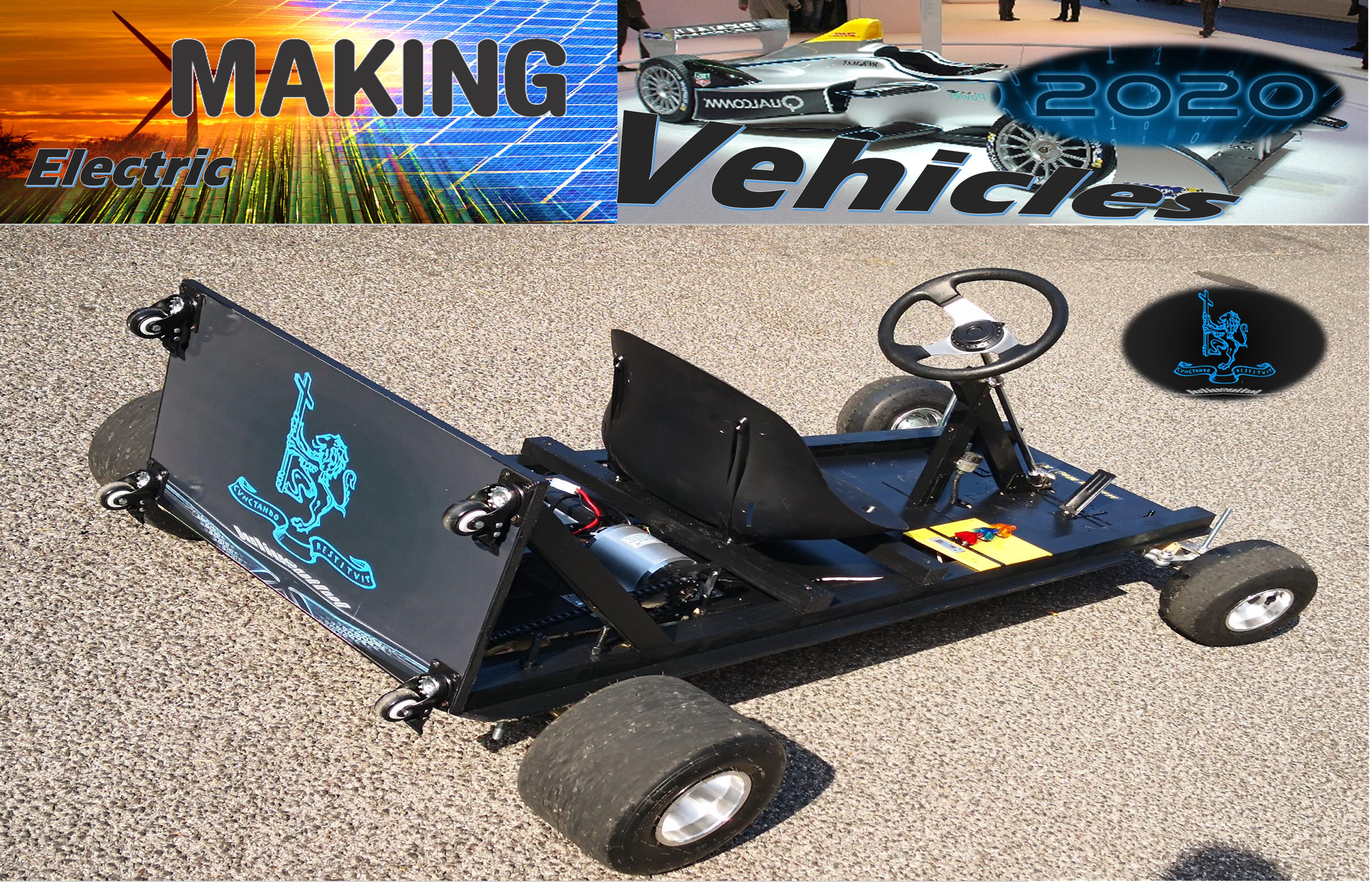 Making Electric Vehicles 2020: Kart building and driving for a Gran Prix