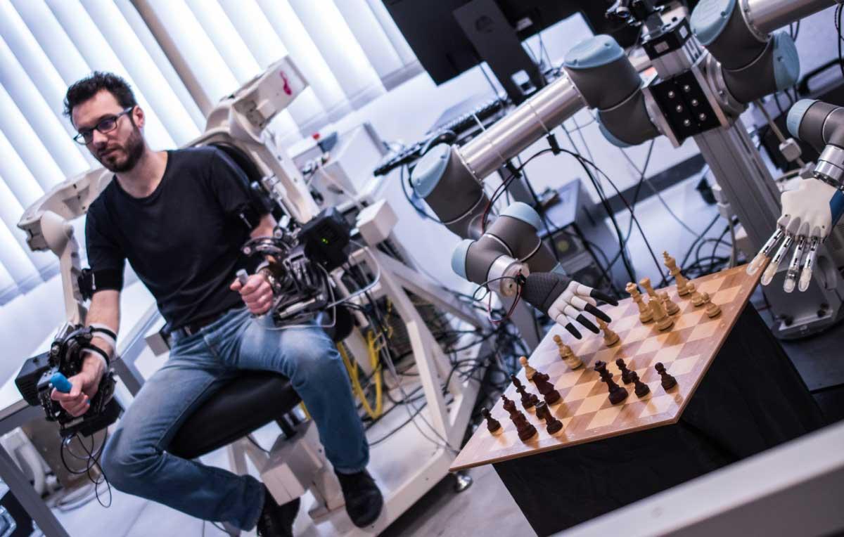 Human-Robot-Interaction Area, Perceptual Robotics Laboratory, Scuola Superiore Sant'Anna