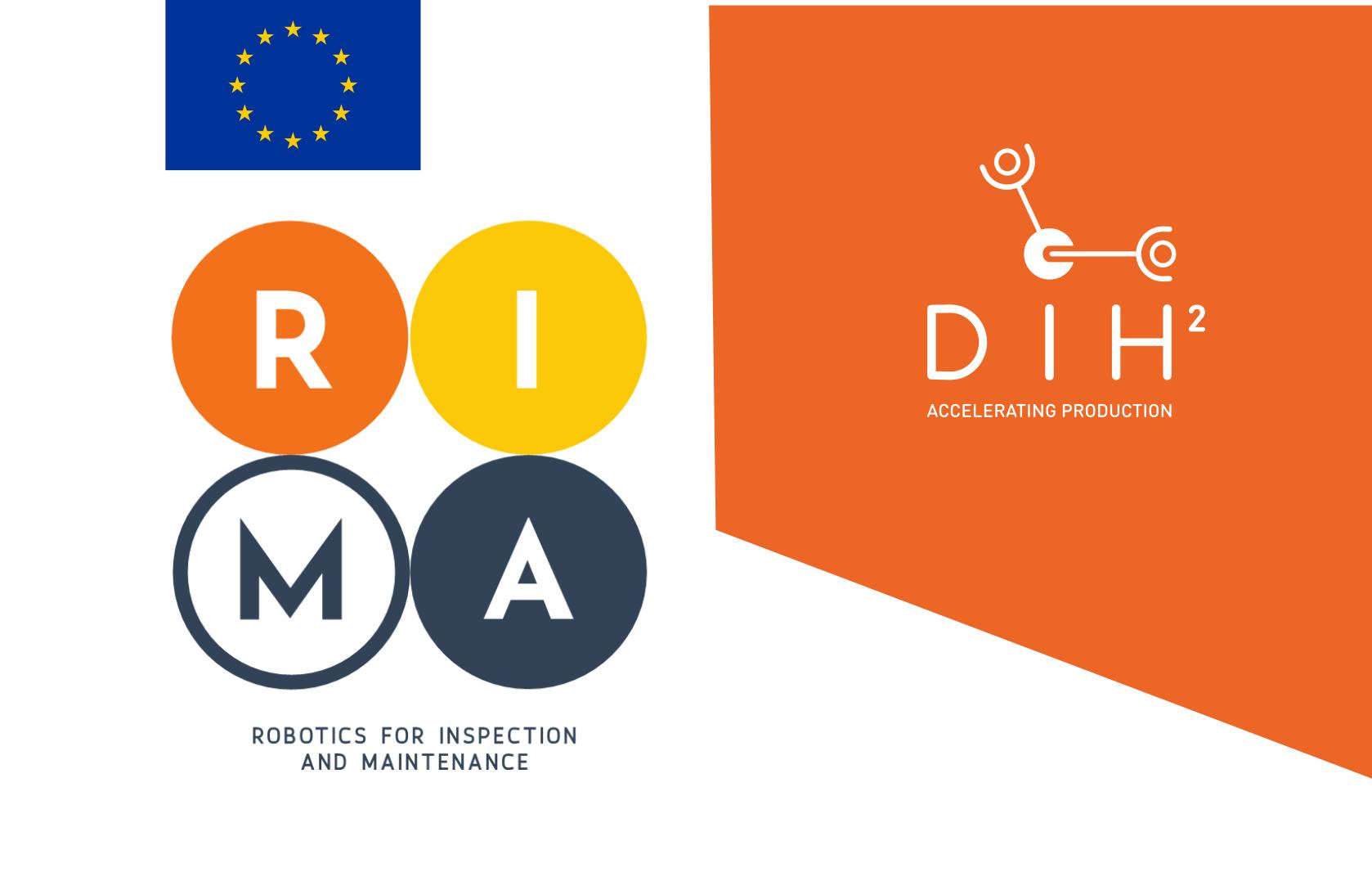 DIH² and RIMA: European Networks of DIHs in Robotics