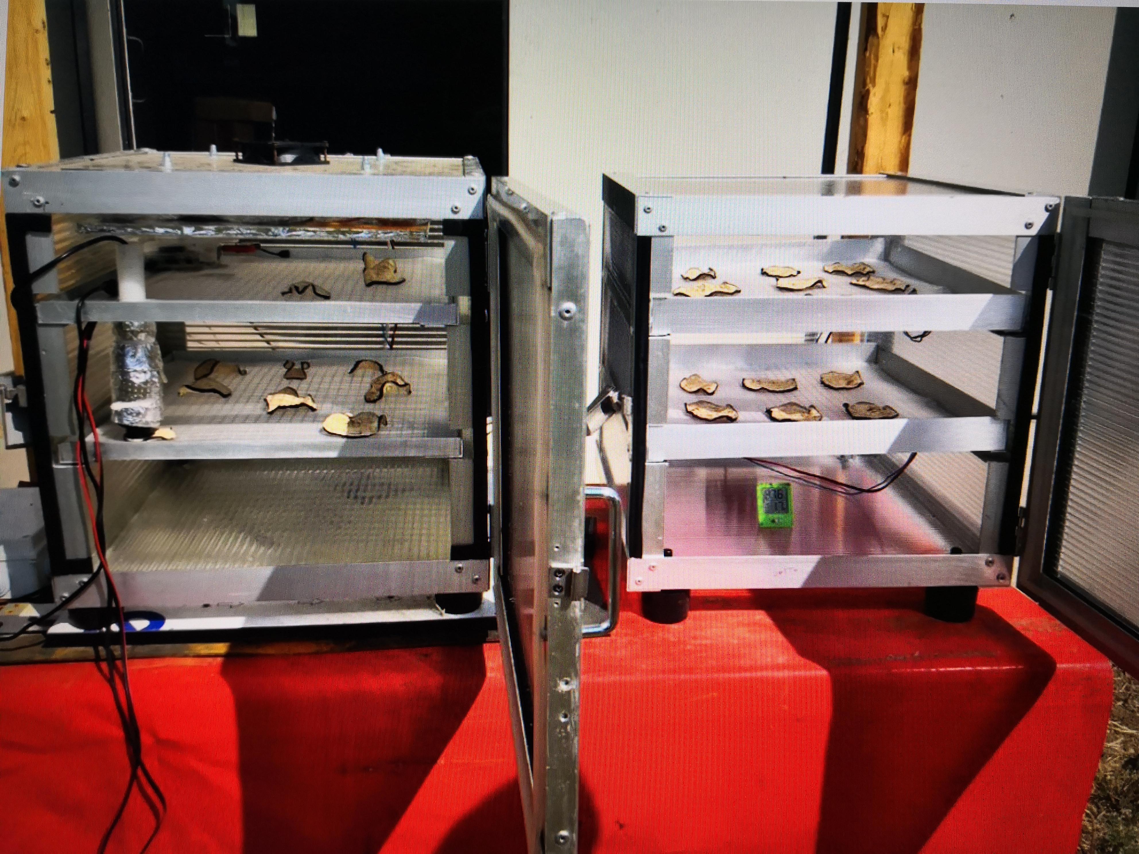 Trasformazione alimentare sostenibile tracciata con sensori nel vicino infrarosso