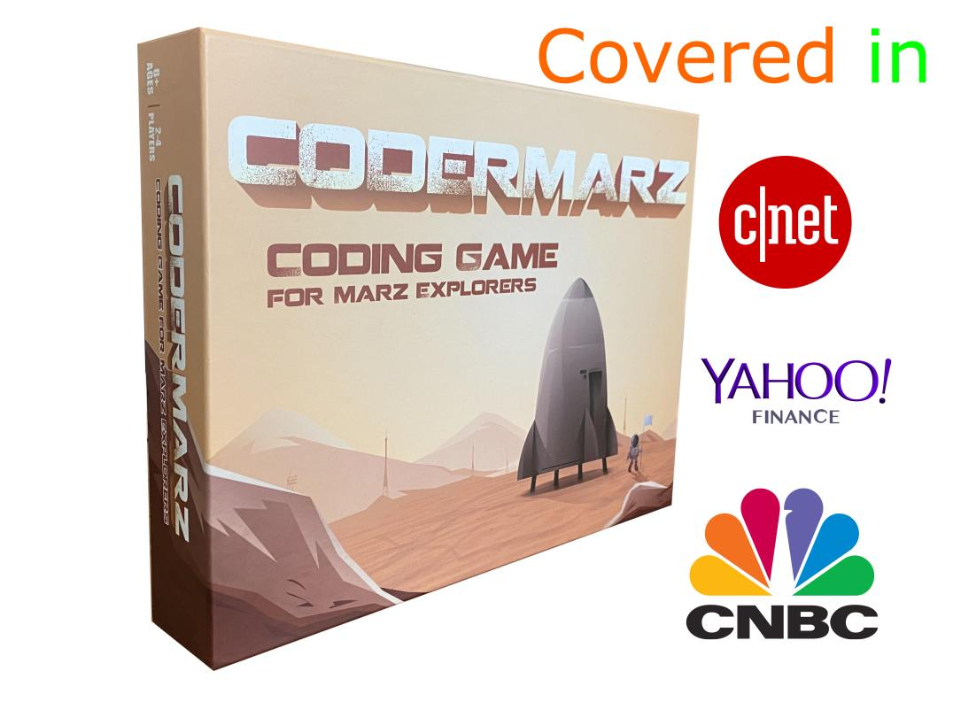 CoderMarz - Make Code Explore and Settle - at Mars!!