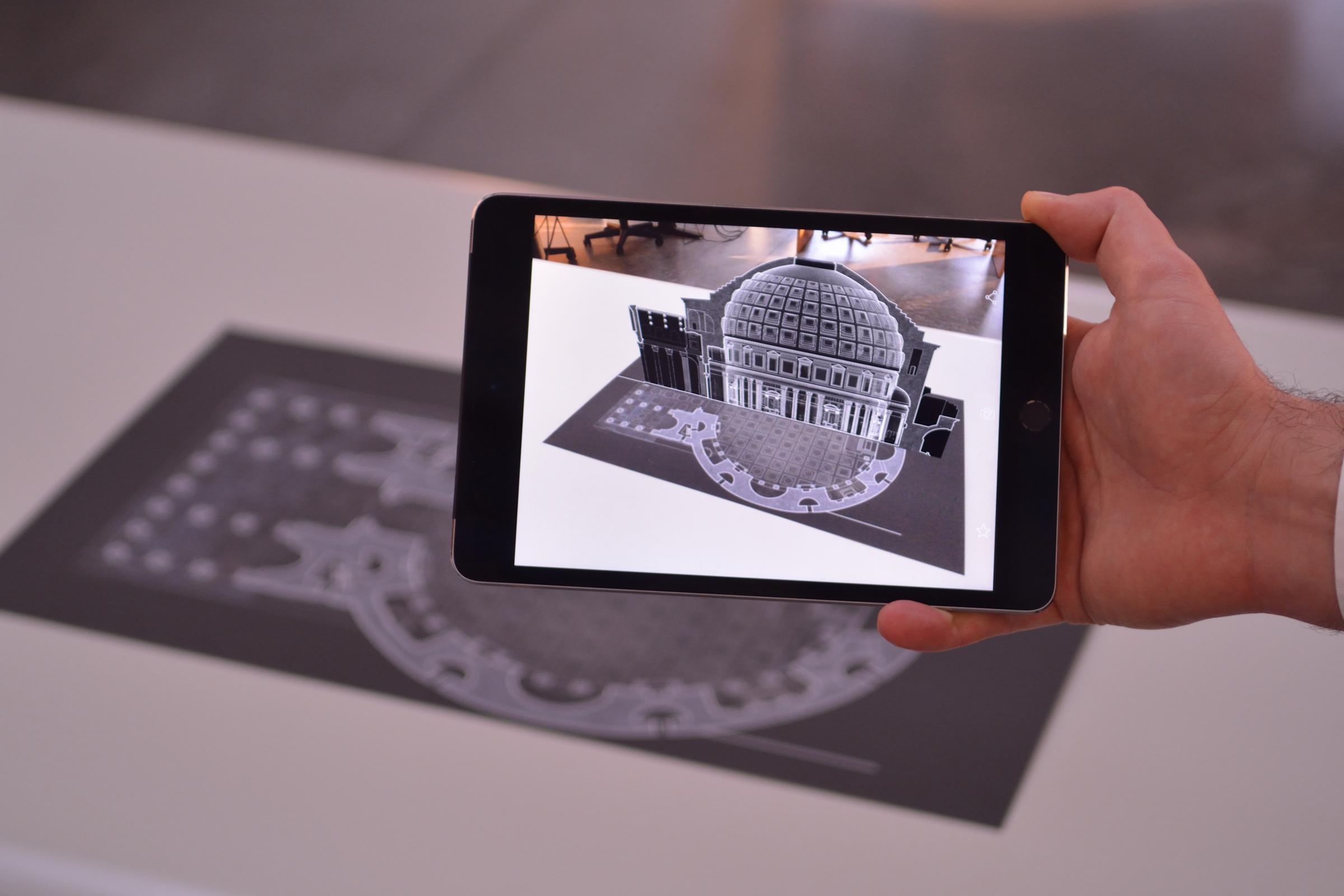 Applicazioni AR per l'architettura e il disegno