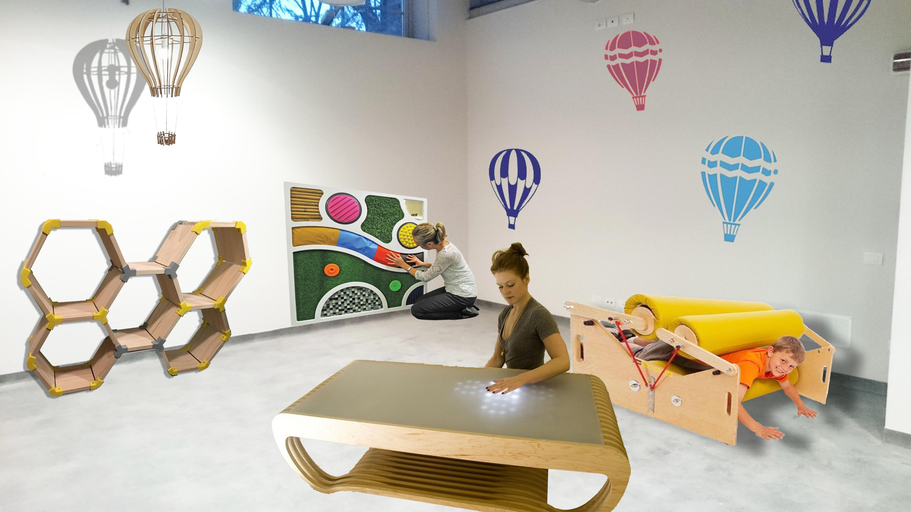 Spazio Gioco e Smart Room per bambini disabili