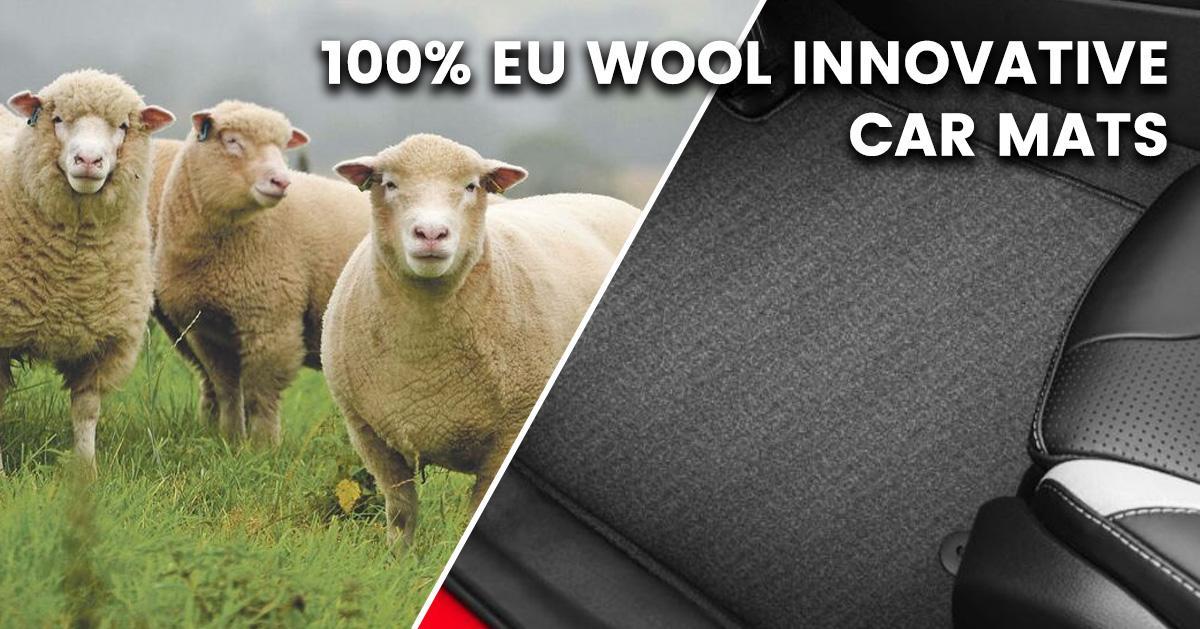 100% Eu Wool Innovative Car Mats