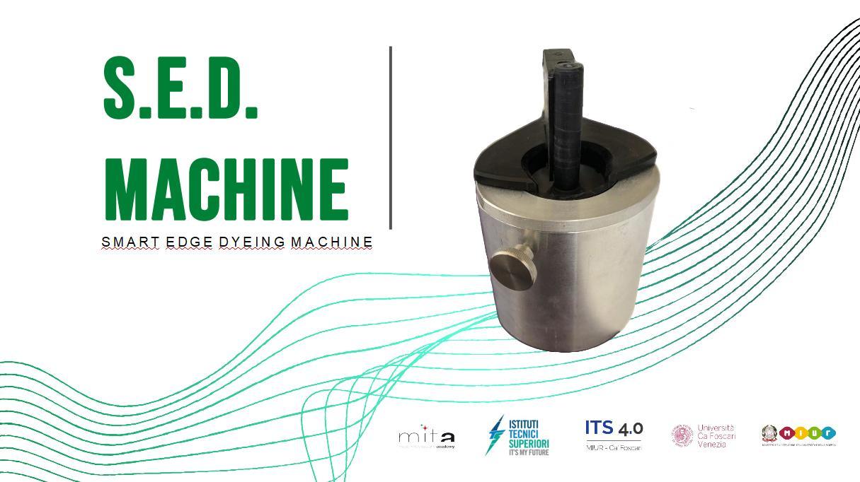 S.E.D. MACHINE - SMART EDGE DYEING MACHINE
