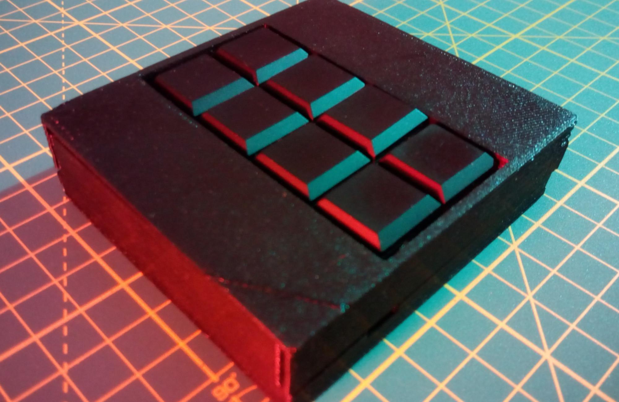 Oskar – mobile braille-keyboard