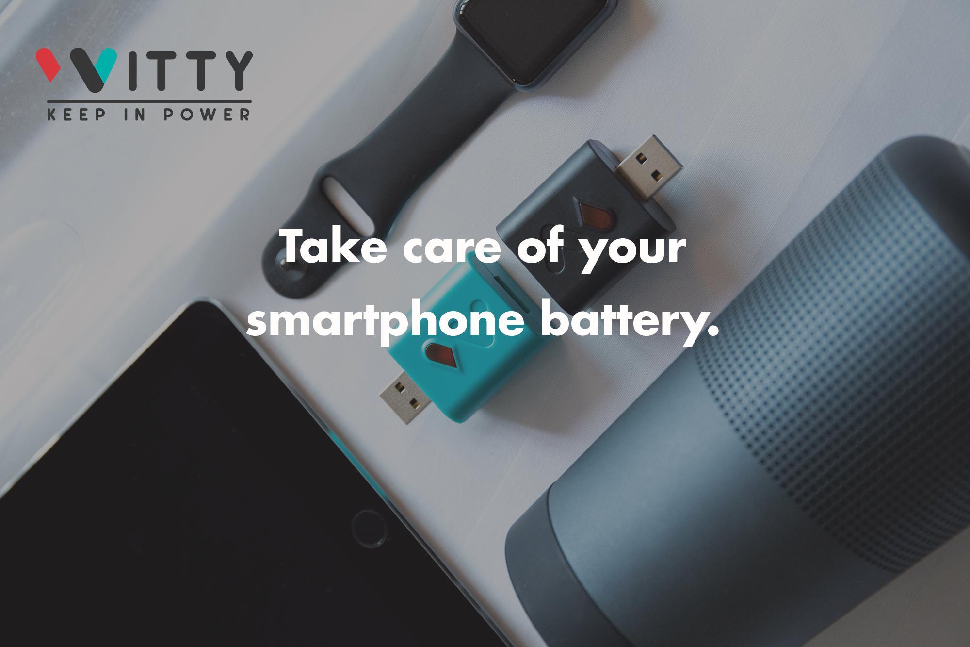 Witty, il device che si prende cura della tua batteria