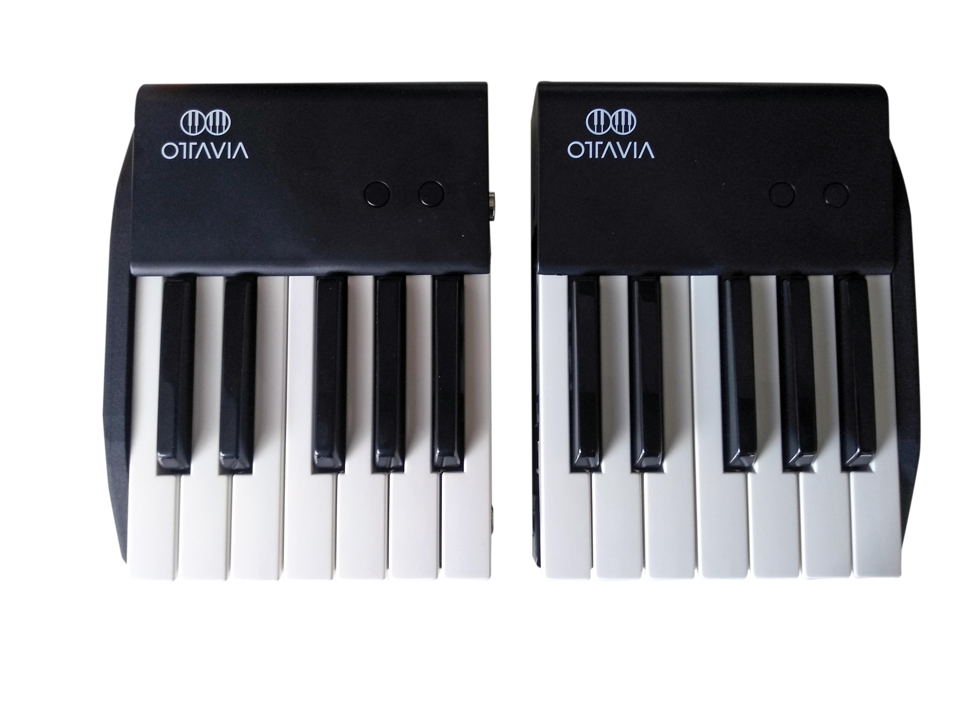 Ottavia - la tastiera di un'ottava