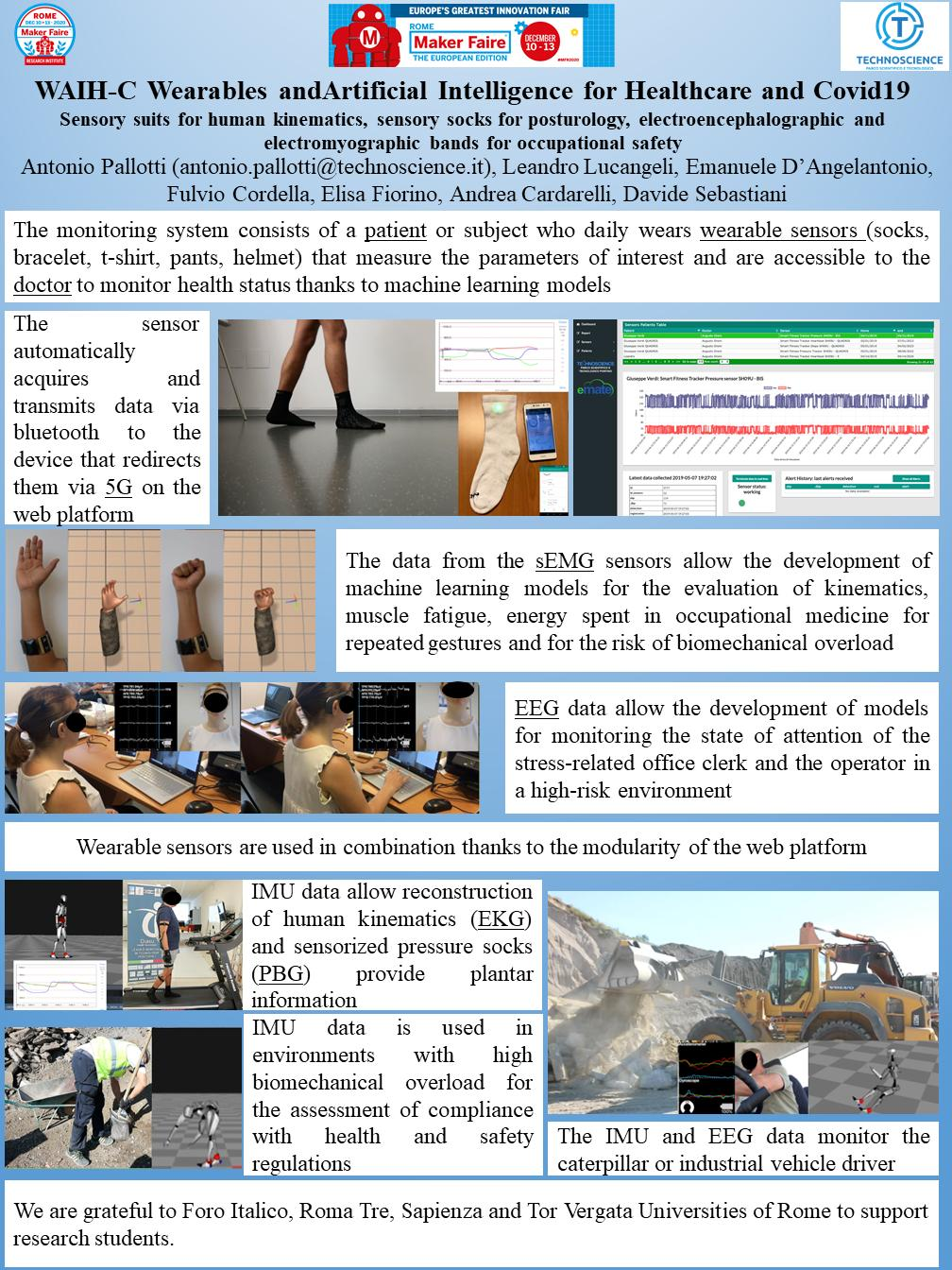 WAIH-C (Wearables and Artificial Intelligence for Healthcare and Covid-19)