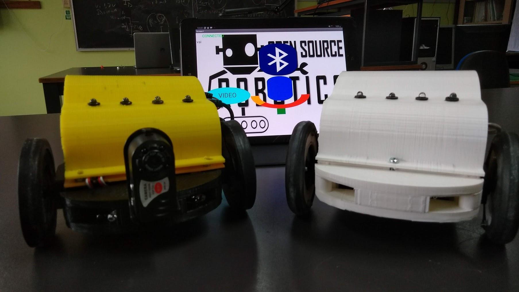 Robot Control Voice